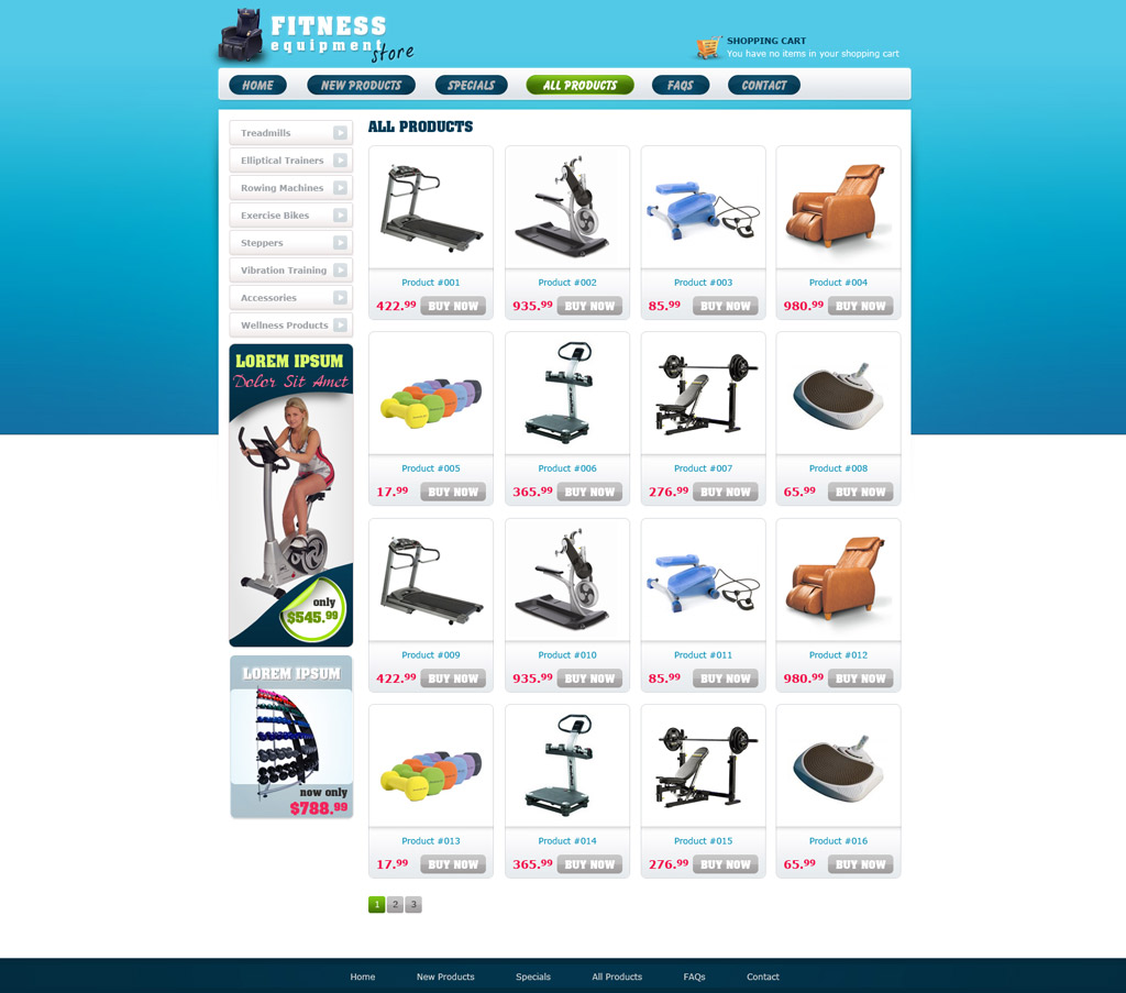 Comsoft Solutions Inc - Ecommerce site templates